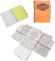 Купить Expert Complete Тетрадь Neon Book 120 листов в клетку цвет оранжевый формат A5, Тетради