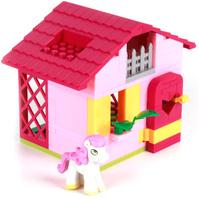Купить Город мастеров Конструктор Домик для пони с фигуркой пони, Конструкторы