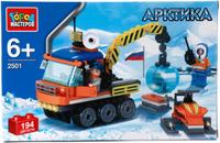 Купить Город мастеров Конструктор Арктика Вездеход и снегоход с фигурками, Конструкторы