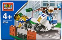 Купить Город мастеров Конструктор Полиция погоня с фигурками BL-3030-R, Конструкторы