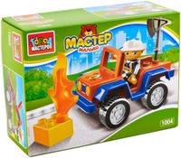 Купить Город мастеров Конструктор Большие Кубики Пожарная машина с фигуркой, Конструкторы