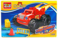 Купить Город мастеров Конструктор Большие Кубики Супер джипы LL-1008-R, Конструкторы