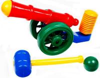 Купить СВСД Пушка помповая, Строим вместе счастливое детство (СВСД), Игрушечное оружие