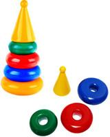 Купить СВСД Пирамидка маленькая, Строим вместе счастливое детство (СВСД), Развивающие игрушки