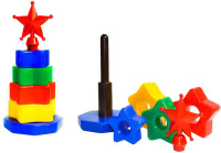 Купить СВСД Пирамидка Комета, Строим вместе счастливое детство (СВСД), Развивающие игрушки
