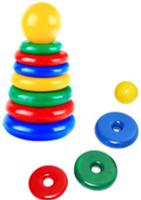 Купить СВСД Пирамидка Спутник, Строим вместе счастливое детство (СВСД), Развивающие игрушки