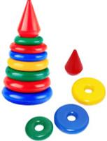 Купить СВСД Пирамидка Рубин, Строим вместе счастливое детство (СВСД), Развивающие игрушки