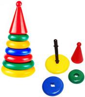Купить СВСД Пирамидка-головоломка Ключик, Строим вместе счастливое детство (СВСД), Развивающие игрушки