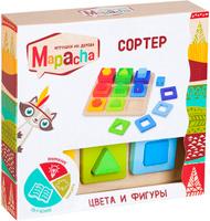 Купить Mapacha Обучающая игра Сортер Цвета и фигуры, Обучение и развитие