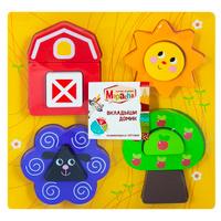 Купить Mapacha Пазл для малышей Вкладыши Домик, Обучение и развитие