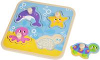 Купить Mapacha Пазл для малышей Вкладыши Море, Обучение и развитие