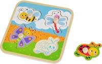 Купить Mapacha Пазл для малышей Вкладыши На полянке, Обучение и развитие