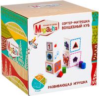 Купить Mapacha Обучающая игра Сортер-матрешка Волшебный куб, Обучение и развитие