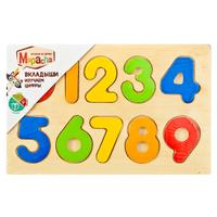 Купить Mapacha Пазл для малышей Вкладыши Изучаем цифры, Обучение и развитие