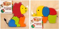 Купить Mapacha Пазл для малышей Вкладыши Животные в ассортименте, Обучение и развитие