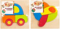 Купить Mapacha Пазл для малышей Вкладыши Транспорт в ассортименте, Обучение и развитие