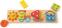 Купить Mapacha Пазл для малышей Вкладыши Лето, Обучение и развитие