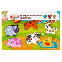 Купить Mapacha Пазл для малышей Вкладыши-фигурки Животные, Обучение и развитие