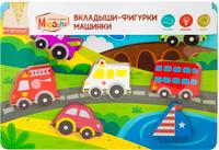 Купить Mapacha Пазл для малышей Вкладыши-фигурки Машинки, Обучение и развитие