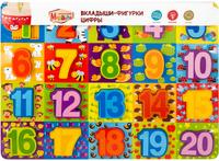 Купить Mapacha Пазл для малышей Вкладыши Цифры, Обучение и развитие