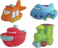 Купить ПОМА Набор игрушек для ванной Транспорт-2 4 шт, Первые игрушки