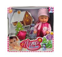 Купить Dimian Игровой набор с куклой Baby Nena Зимний набор, Куклы и аксессуары