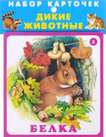 Купить Дикие животные (набор карточек), Животные и растения