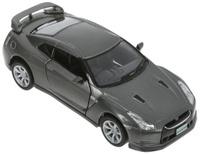Купить Kinsmart Модель автомобиля 2009 Nissan GT-R R35 цвет темно-серый, Машинки