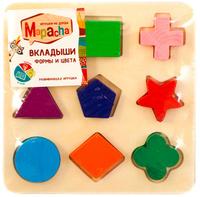 Купить Mapacha Пазл для малышей Вкладыши Формы и цвета 76654_вид 2, Обучение и развитие
