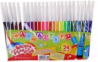 Купить Школа талантов Набор фломастеров 24 цвета 1014668, Фломастеры
