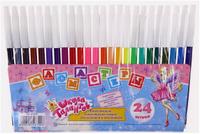 Купить Школа талантов Набор фломастеров Принцесса 24 цвета 1014670, Фломастеры