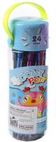 Купить Набор фломастеров Сова цвет упаковки голубой 24 цвета 2870477, Noname, Фломастеры
