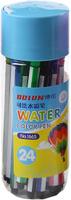 Купить Набор фломастеров Смайл цвет упаковки голубой 24 цвета 2870485, Noname, Фломастеры