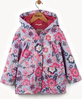 Купить Дождевик для девочки Hatley, цвет: фиолетовый, розовый. RC5GAFL233. Размер 135, 8 лет, Одежда для девочек