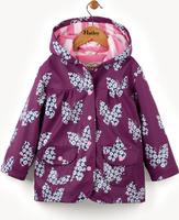 Купить Дождевик для девочки Hatley, цвет: фиолетовый. RC5INBU231. Размер 89, 2 года, Одежда для девочек