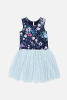 Купить Платье для девочки Acoola Perseus, цвет: мультиколор. 20210200223_8000. Размер 134, Одежда для девочек
