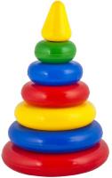 Купить Десятое Королевство Пирамидка Выдувка Малышок 01601, Десятое королевство, Развивающие игрушки