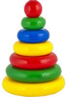 Купить Десятое Королевство Пирамидка Выдувка Малышок 01602, Десятое королевство, Развивающие игрушки