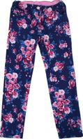 Купить Брюки для девочки PlayToday, цвет: темно-синий, розовый, белый. 182061. Размер 146/152, Одежда для девочек