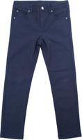Купить Брюки для мальчика PlayToday, цвет: темно-синий. 181011. Размер 128, Одежда для мальчиков