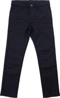 Купить Брюки для мальчика PlayToday, цвет: черный. 181058. Размер 128, Одежда для мальчиков