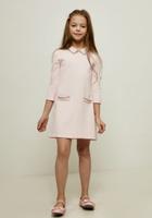 Купить Платье для девочки Zarina, цвет: розовый. 8122620530090D. Размер 128, Одежда для девочек
