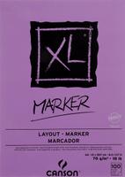 Купить Canson Альбом для маркера Xl 21 х 29.7 см 100 листов, Бумага и картон