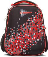 Купить Hatber Ранец школьный Ergonomic Energy Red, Ранцы и рюкзаки
