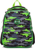 Купить Hatber Ранец школьный Ergonomic Милитари, Ранцы и рюкзаки