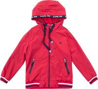 Купить Куртка для мальчика PlayToday, цвет: красный, темно-синий. 181002. Размер 128, Одежда для мальчиков