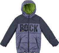Купить Куртка для мальчика PlayToday, цвет: серый, черный. 181051. Размер 128, Одежда для мальчиков