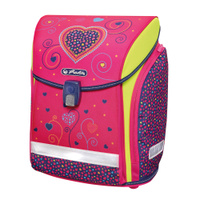 Купить Herlitz Ранец школьный Midi New Pink Hearts, Ранцы и рюкзаки