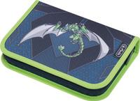 Купить Herlitz Пенал с наполнением Green Robo Dragon 31 предмет, Пеналы