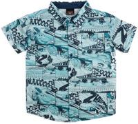 Купить Рубашка для мальчика PlayToday, цвет: синий. 681101. Размер 146/152, Одежда для мальчиков